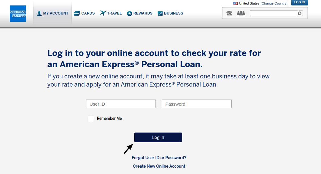 American Express Personal Loans Login