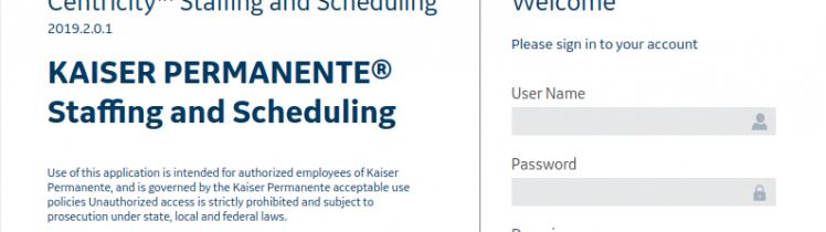 KP Schedule Login