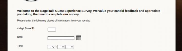 BagelTalk Guest Survey