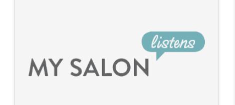 My Salon Listens Survey Logo