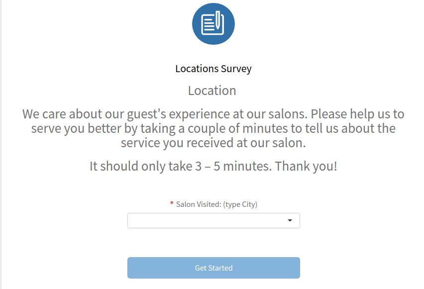 My Salon Listens Survey