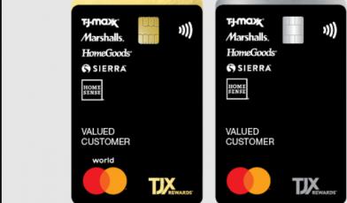 tjx credit card