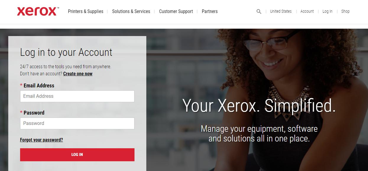 Xerox Login