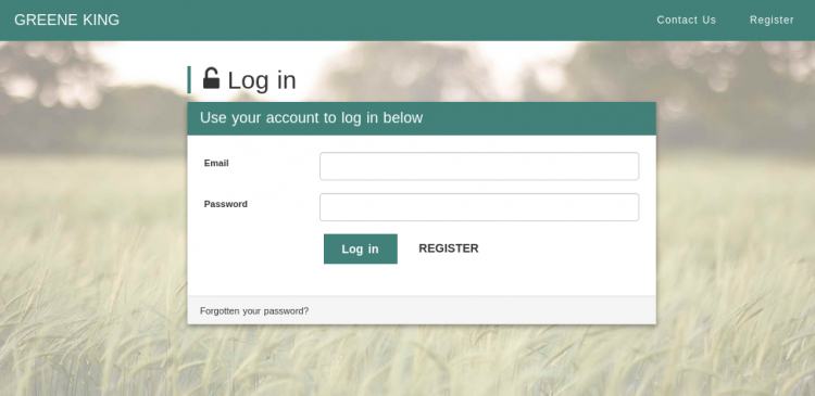 green king desktop login